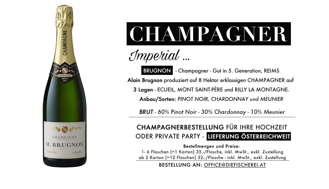 Champagner für Ihre Hochzeit oder Party, Direktimport aus der Champagne